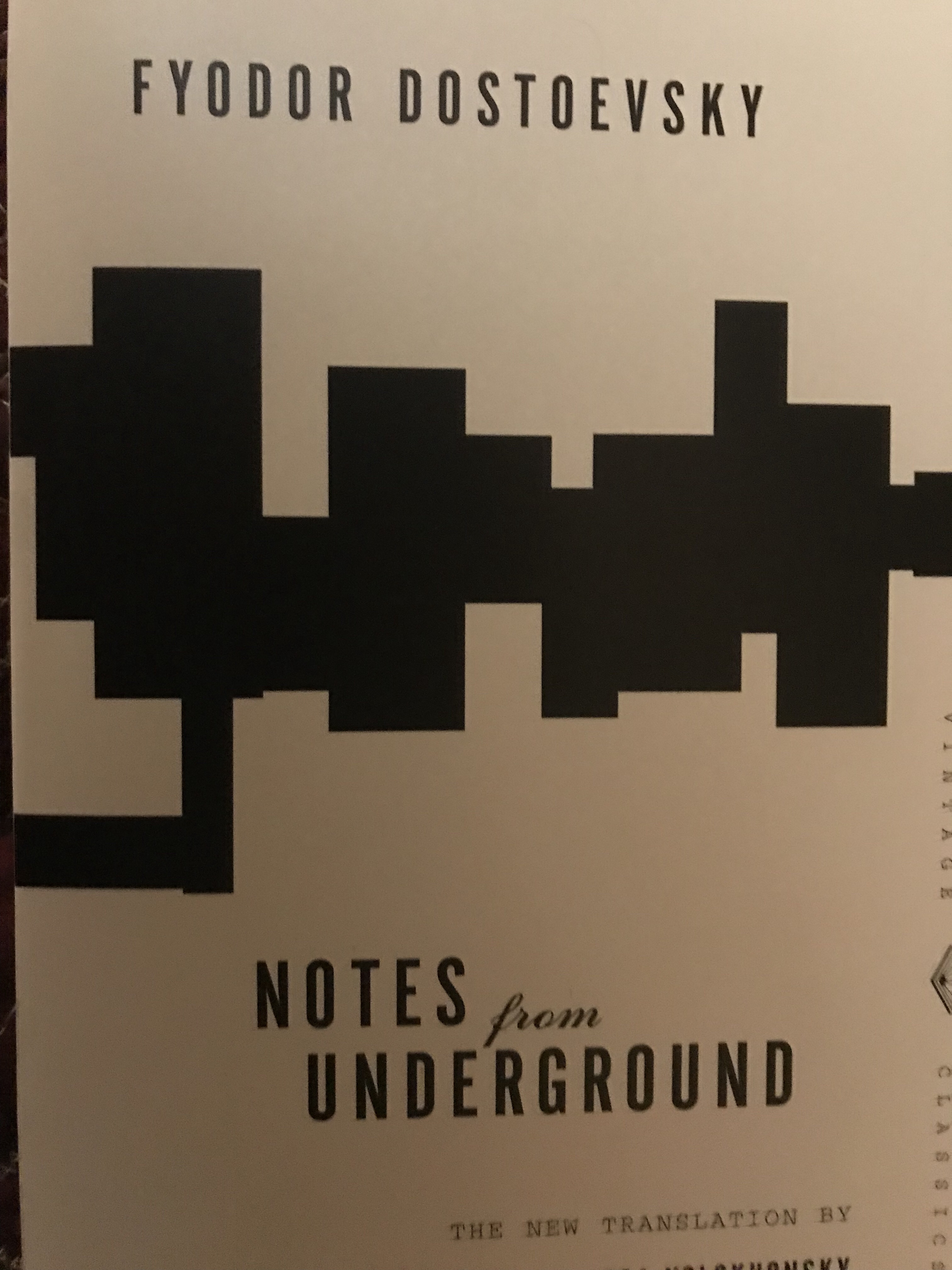 notes from the underground analysis
